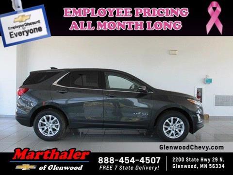 2018 Chevrolet Equinox for sale in Glenwood, MN