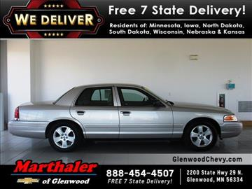 2008 Ford Crown Victoria for sale in Glenwood, MN