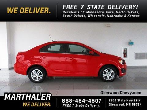 2015 Chevrolet Sonic for sale in Glenwood, MN