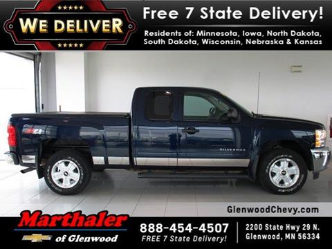 2012 Chevrolet Silverado 1500 for sale in Glenwood, MN