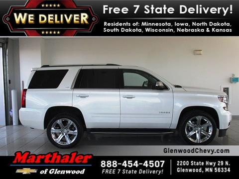 2016 Chevrolet Tahoe for sale in Glenwood, MN