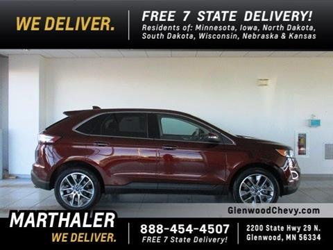 used 2015 ford edge for sale in minnesota. Black Bedroom Furniture Sets. Home Design Ideas