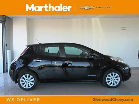 2016 Nissan LEAF for sale in Glenwood, MN