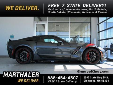 2017 Chevrolet Corvette for sale in Glenwood, MN