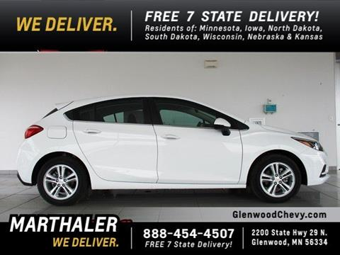 2017 Chevrolet Cruze for sale in Glenwood, MN