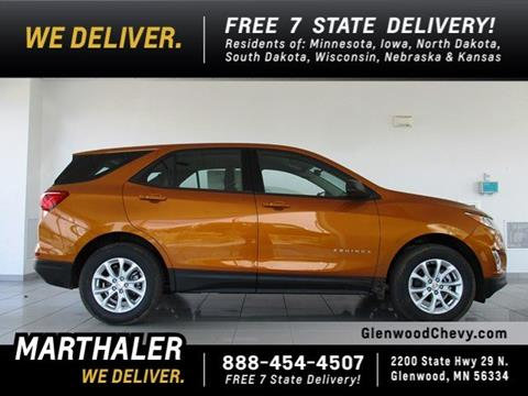 2018 Chevrolet Equinox for sale in Glenwood, MN