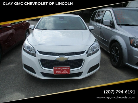 2016 Chevrolet Malibu Limited for sale in Lincoln, ME