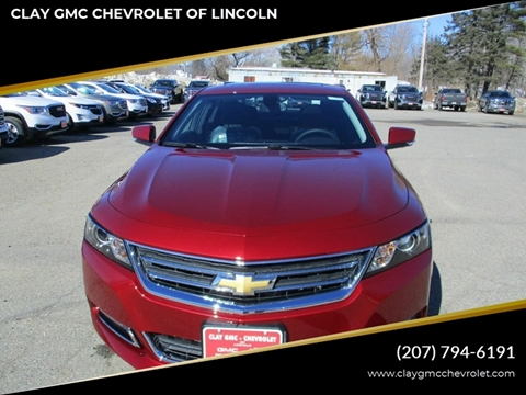 2019 Chevrolet Impala for sale in Lincoln, ME