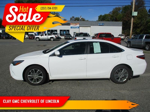 2015 Toyota Camry for sale in Lincoln, ME