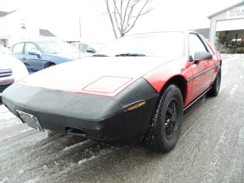 1984 Pontiac Fiero for sale in Fort Wayne, IN