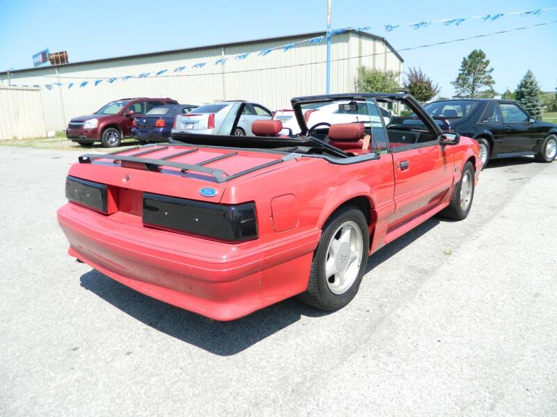 1991 Ford Mustang GT 2dr Convertible - Fort Wayne IN
