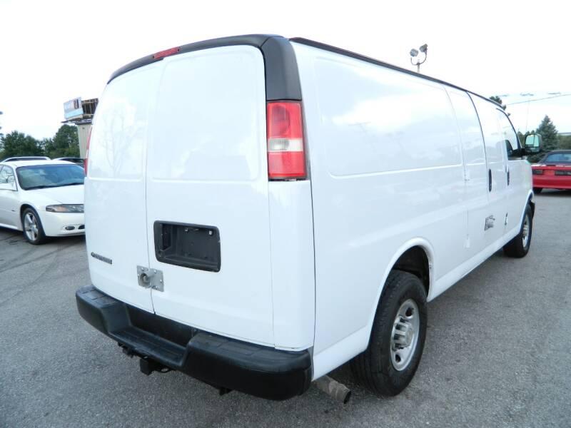 2008 Chevrolet Express Cargo 3500 3dr Extended Cargo Van - Fort Wayne IN