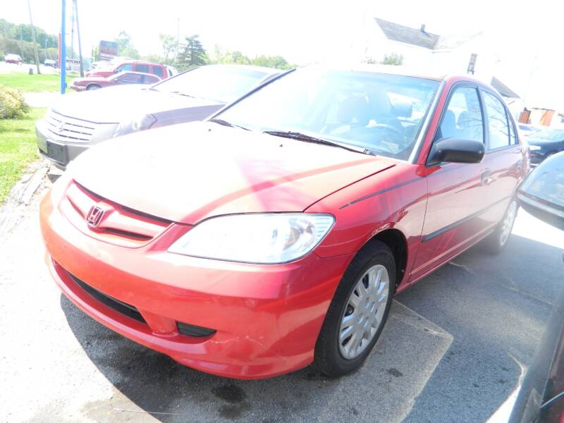 2005 Honda Civic Value Package 4dr Sedan - Fort Wayne IN