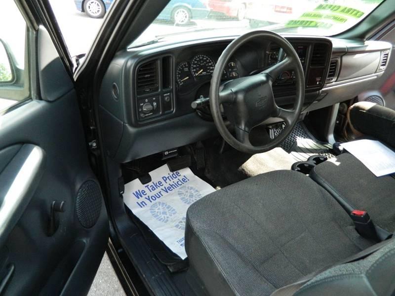 2002 Chevrolet Silverado 1500 2dr Standard Cab LS 2WD SB - Fort Wayne IN