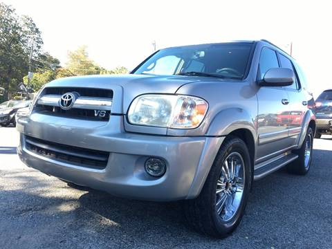 used 2005 toyota sequoia for sale in north carolina. Black Bedroom Furniture Sets. Home Design Ideas