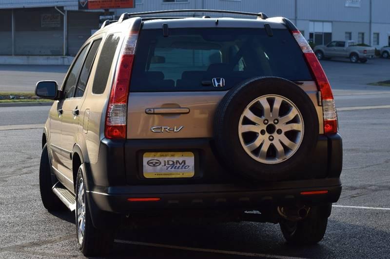 2006 Honda CR-V AWD EX 4dr SUV w/Automatic - Fredericksburg VA