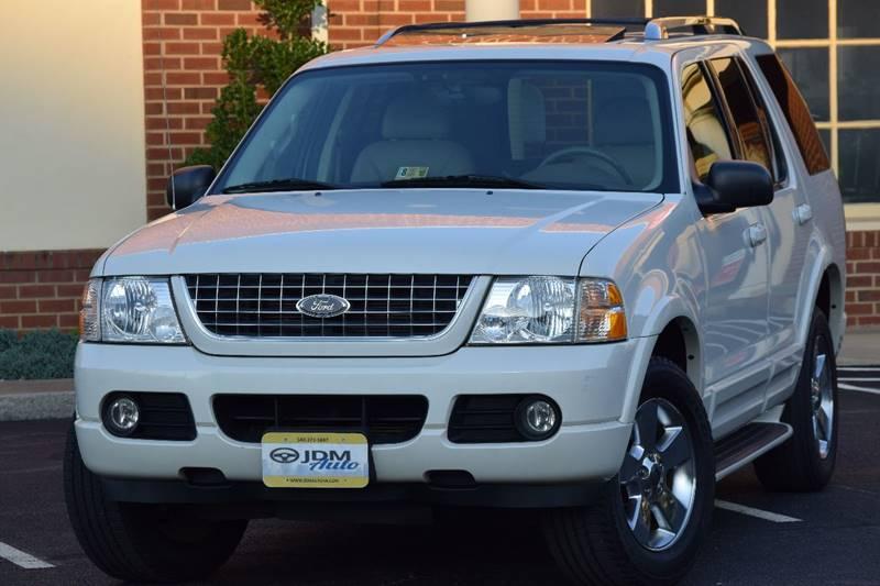 2003 Ford Explorer Limited 4WD 4dr SUV - Fredericksburg VA