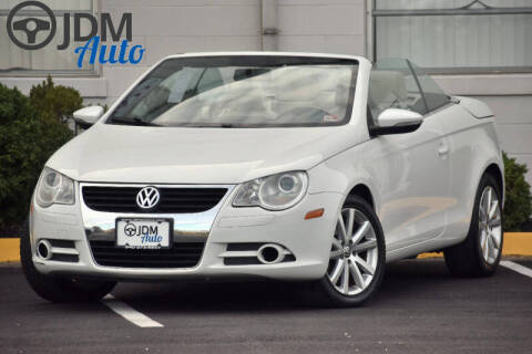 2009 Volkswagen Eos for sale at JDM Auto in Fredericksburg VA