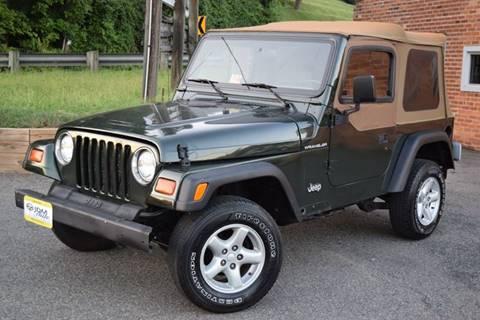 1997 Jeep Wrangler for sale in Fredericksburg, VA