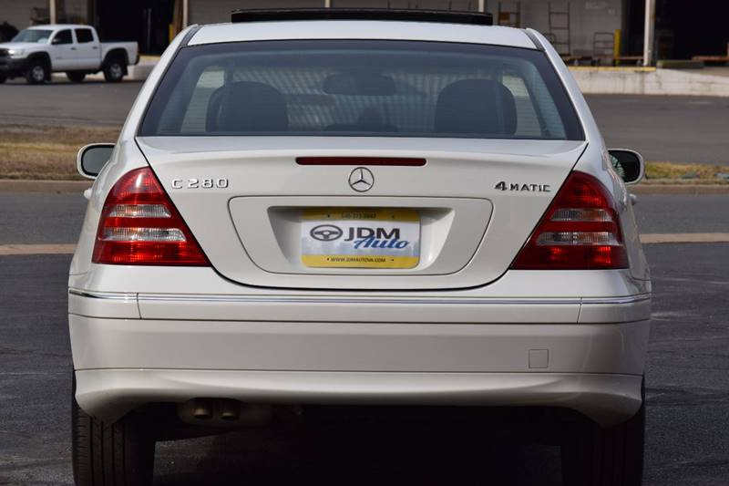 2007 Mercedes-Benz C-Class AWD C 280 Luxury 4MATIC 4dr Sedan - Fredericksburg VA