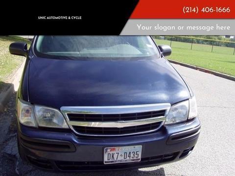 2005 Chevrolet Venture for sale in Dallas, TX