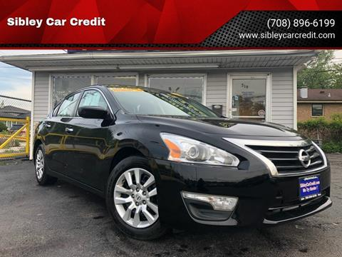 2015 Nissan Altima for sale at Sibley Car Credit in Dolton IL