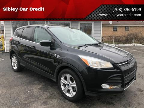 2015 Ford Escape for sale at Sibley Car Credit in Dolton IL