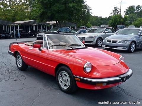 alfa romeo spider for sale. Black Bedroom Furniture Sets. Home Design Ideas