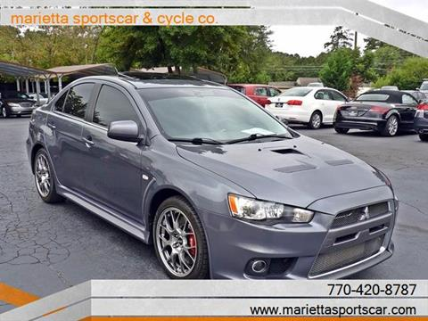 2010 Mitsubishi Lancer Evolution for sale in Marietta, GA