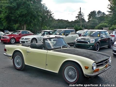 1971 Triumph TR-6 for sale in Marietta, GA