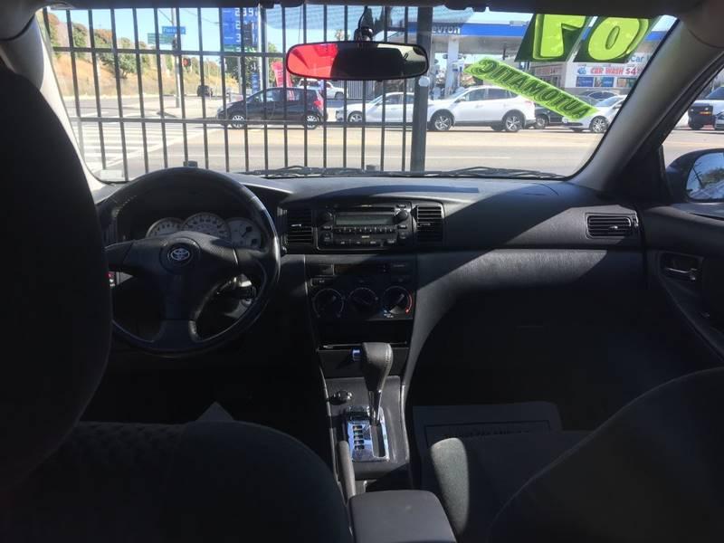 2007 Toyota Corolla for sale at Wayne Motors, LLC in Los Angeles CA
