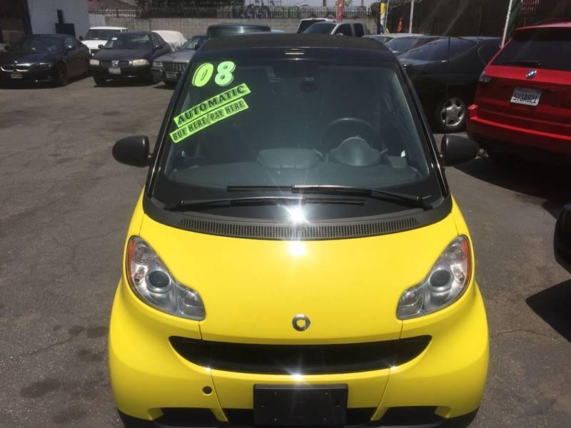 2008 Smart fortwo for sale at Wayne Motors, LLC in Los Angeles CA