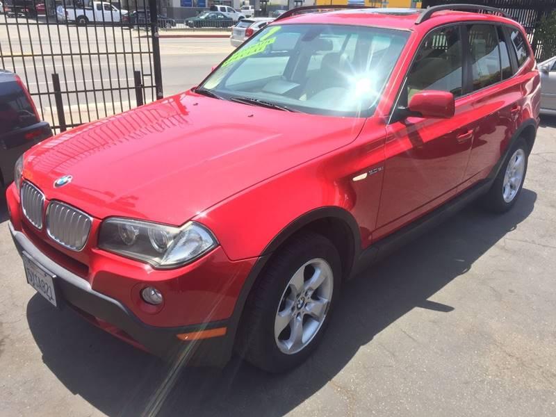 2007 BMW X3 for sale at Wayne Motors, LLC in Los Angeles CA