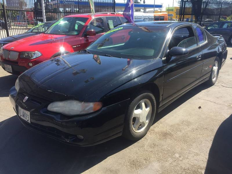 2000 Chevrolet Monte Carlo for sale at Wayne Motors, LLC in Los Angeles CA