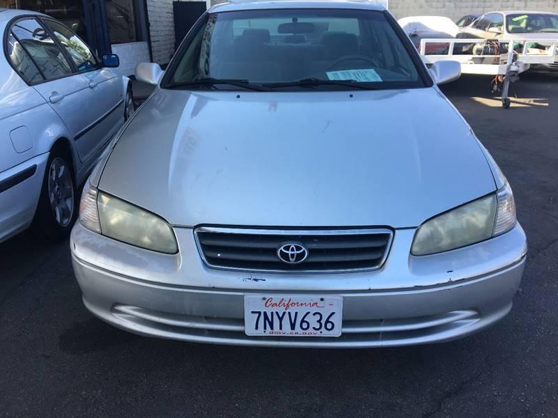 2001 Toyota Camry For Sale At Wayne Motors, LLC In Los Angeles CA