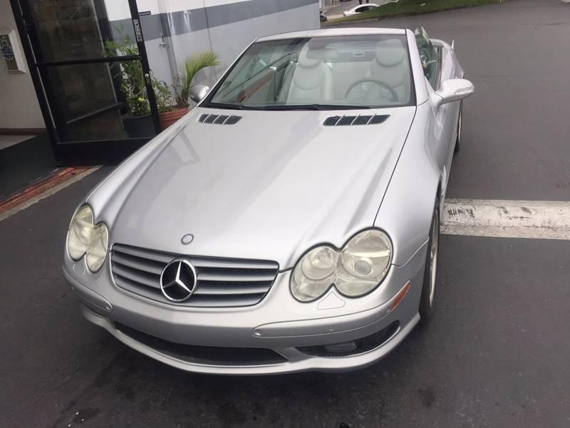 2003 Mercedes-Benz SL-Class SL 500 2dr Convertible - San Diego CA