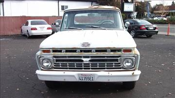 1966 Ford F-100 for sale in Vallejo, CA