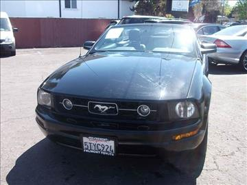 2006 Ford Mustang for sale in Vallejo, CA