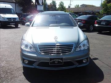 2007 Mercedes-Benz S-Class for sale in Vallejo, CA