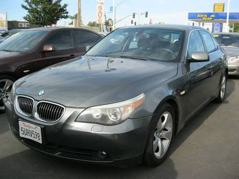 2006 BMW 5 Series for sale at Thomas Auto Sales in Manteca CA