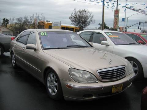 2001 Mercedes-Benz S-Class for sale at Thomas Auto Sales in Manteca CA
