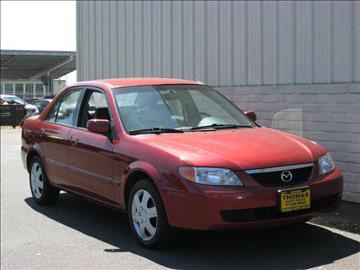 2002 Mazda Protege for sale at Thomas Auto Sales in Manteca CA