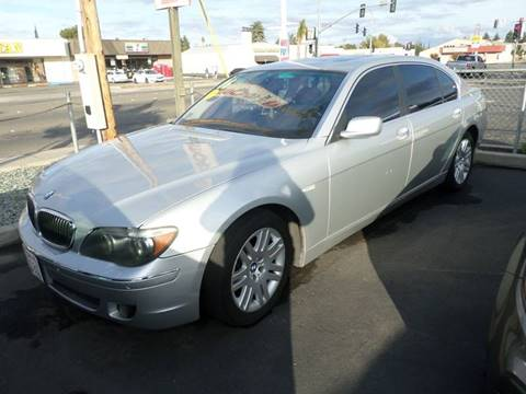 2006 BMW 7 Series for sale at Thomas Auto Sales in Manteca CA