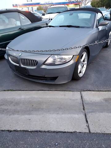2007 BMW Z4 for sale at Thomas Auto Sales in Manteca CA