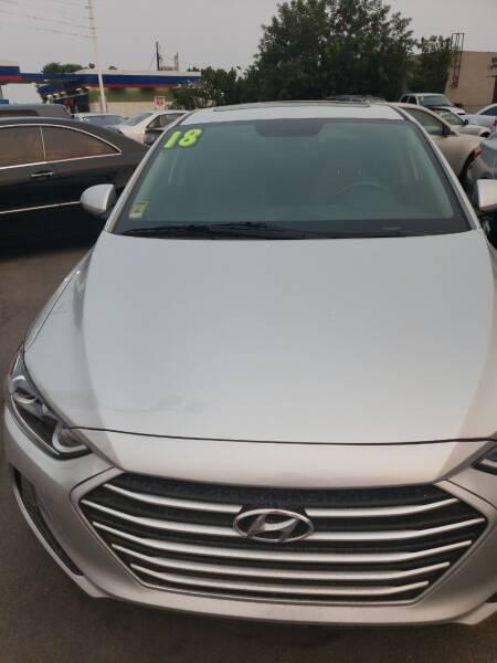2018 Hyundai Elantra for sale at Thomas Auto Sales in Manteca CA