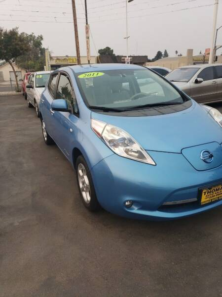 2011 Nissan LEAF for sale at Thomas Auto Sales in Manteca CA