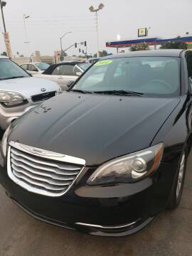 2014 Chrysler 200 for sale at Thomas Auto Sales in Manteca CA