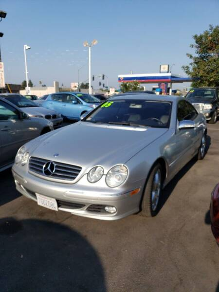 2005 Mercedes-Benz CL-Class for sale at Thomas Auto Sales in Manteca CA