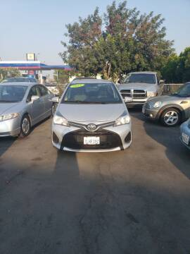 2015 Toyota Yaris for sale at Thomas Auto Sales in Manteca CA