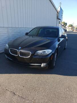 2013 BMW 5 Series for sale at Thomas Auto Sales in Manteca CA
